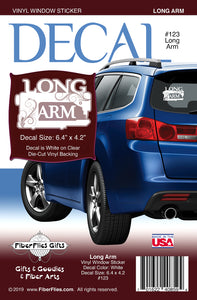 LONG ARM - Vinyl Decal for Car or Home