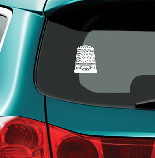 THIMBLE - Vinyl Decal for Car or Home