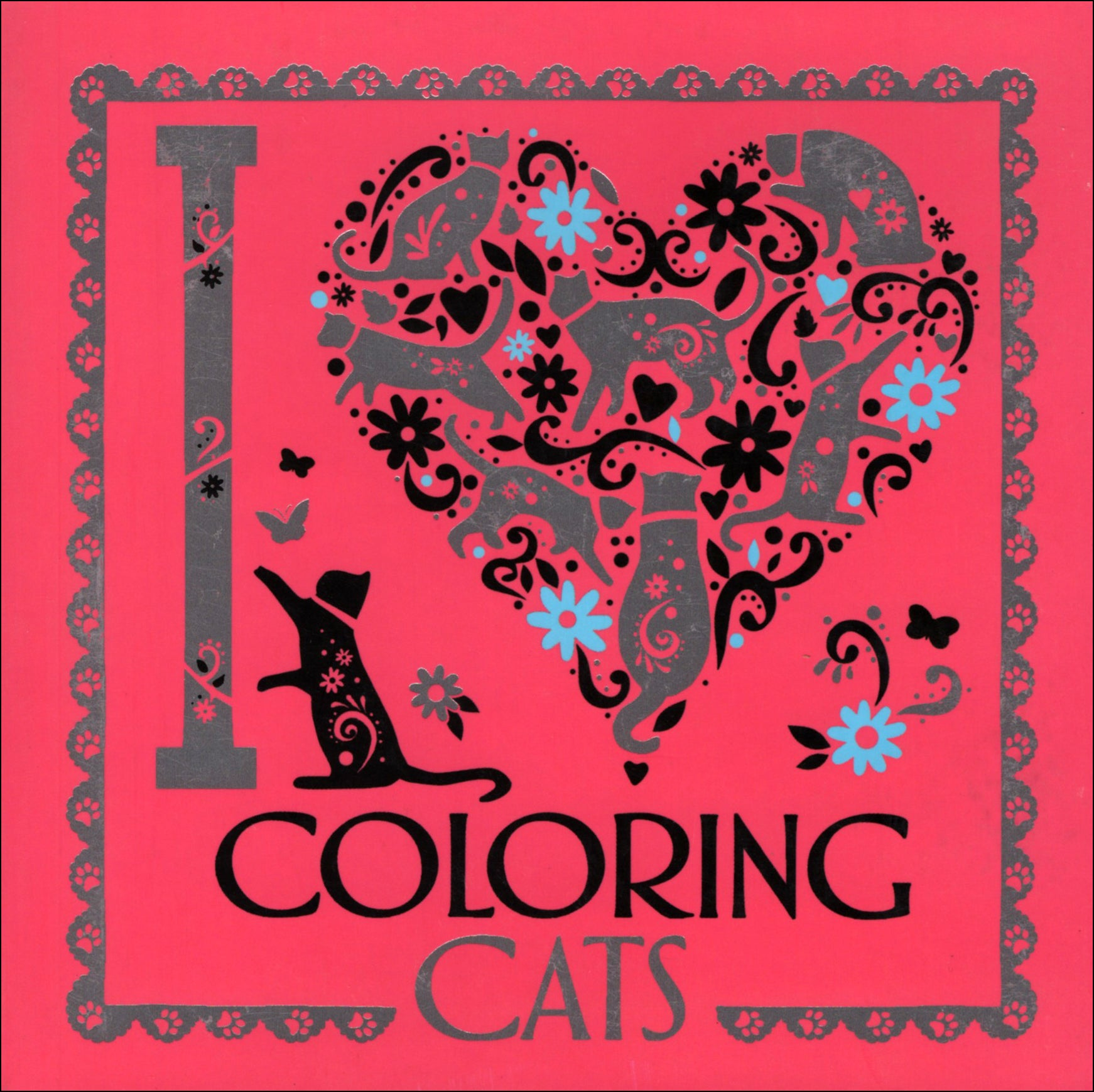 I Heart Coloring Cats