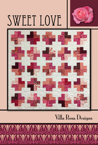 "SWEET LOVE pattern - 51""x 51"""