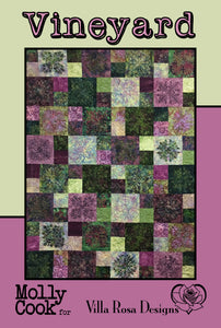 "VINEYARD pattern - 54""x72"""