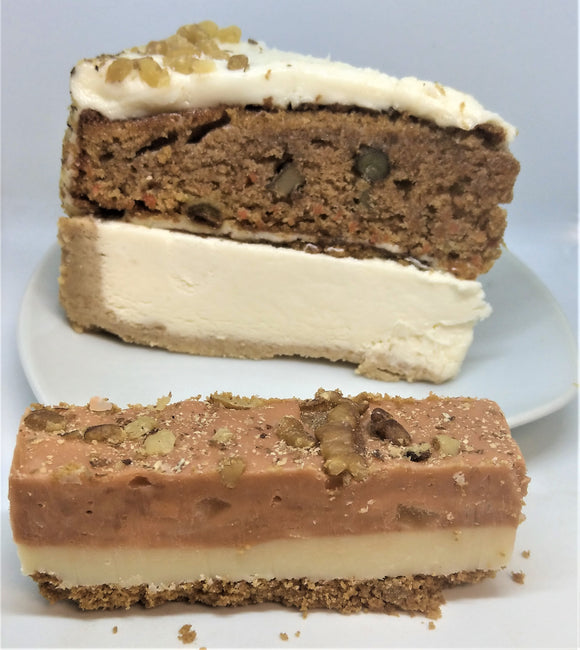 Carrot Cake Cheesecake fudge