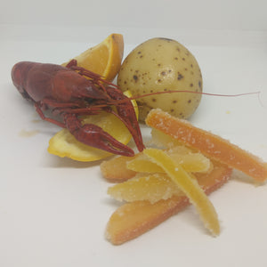 Cajun Candied Citrus Peels