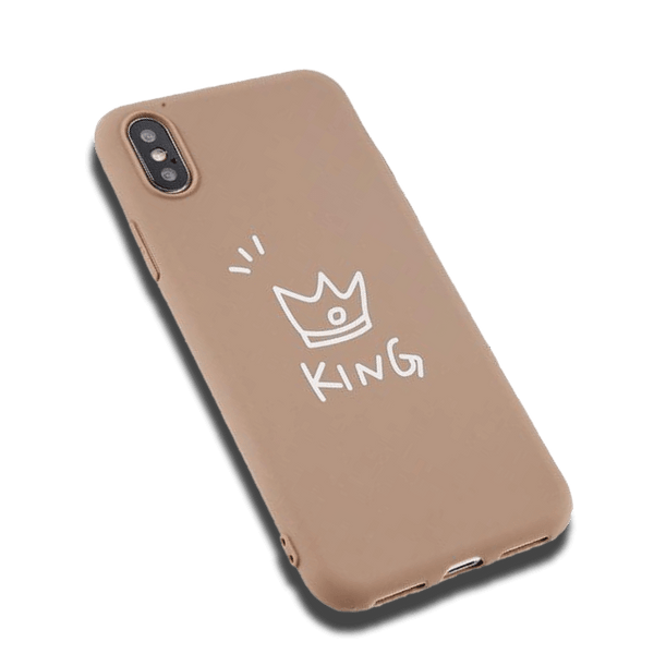 Coque iPhone 6/6s Beige Roi Fluorescent
