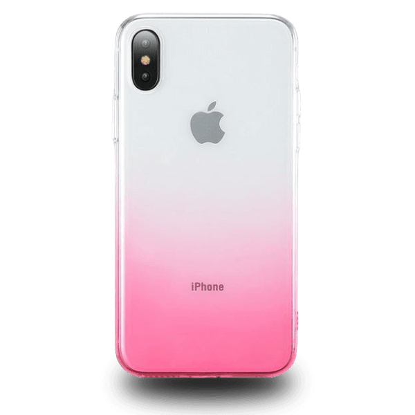 Coque iPhone XR Dégradé Rose