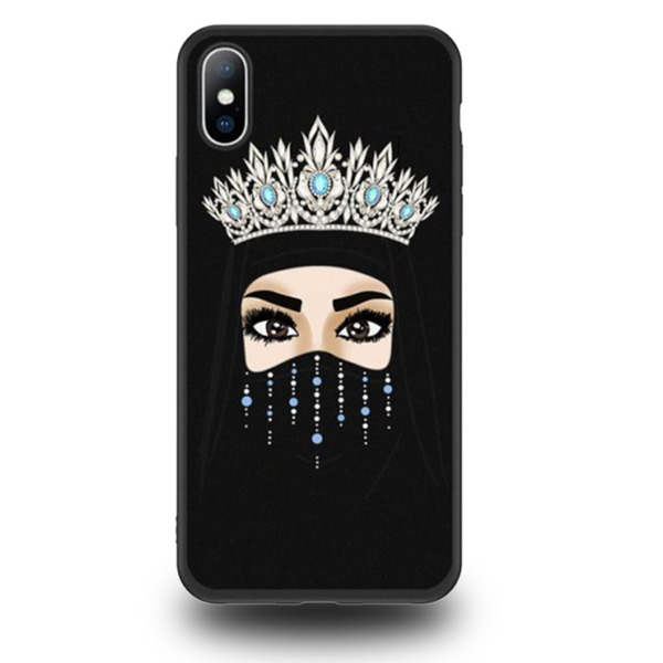 Coque iPhone XR Diadème Strass
