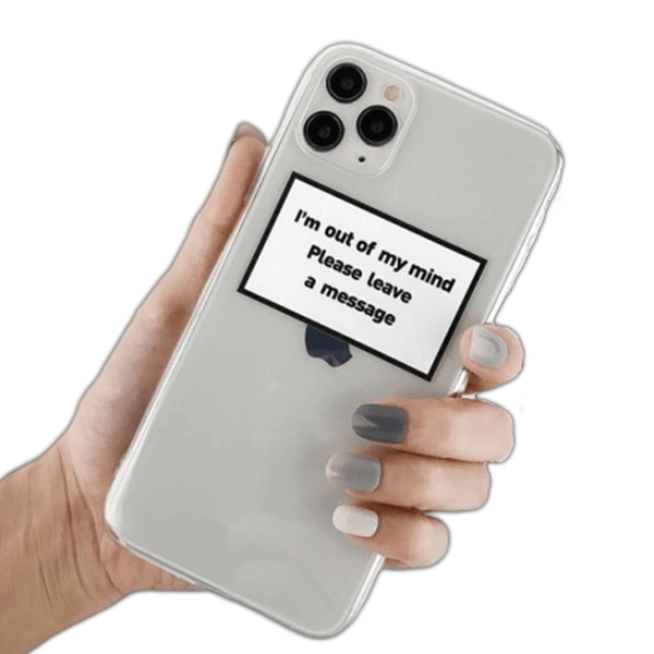 Coque iPhone XR Leave A Message