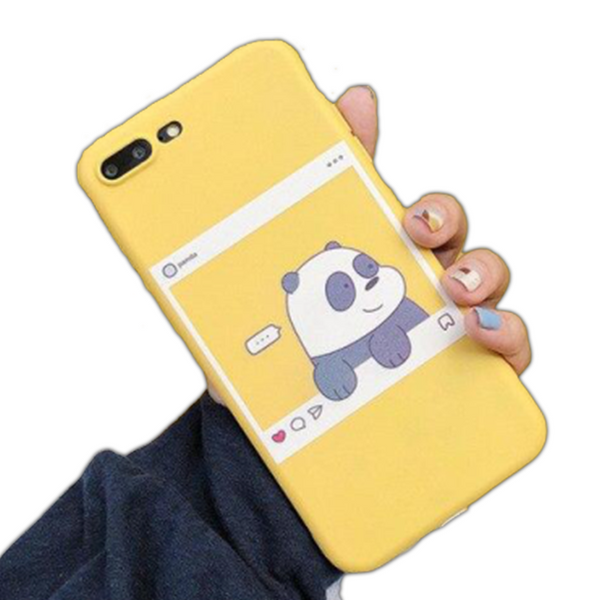 Coque iPhone XR Panda Instagram