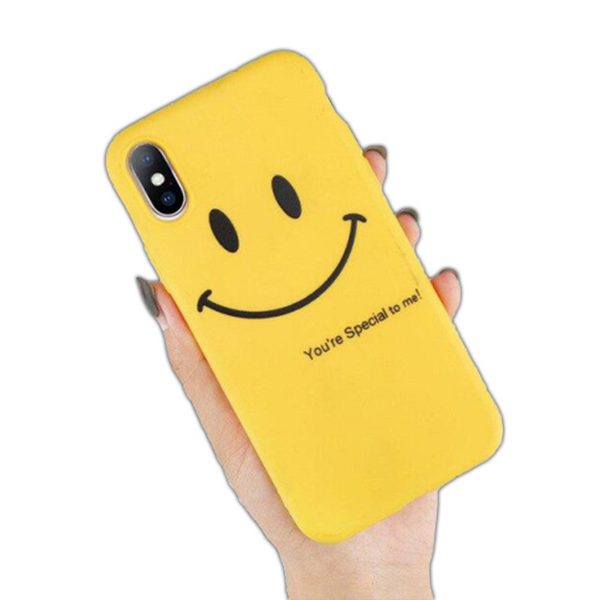 Coque iPhone XR Sourire