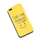 Coque iPhone XR Start Morning
