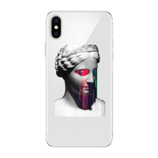 Coque iPhone 11 Transparent Regard Laser