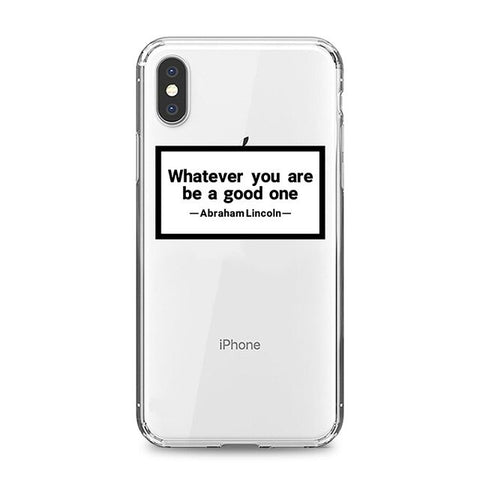 Coque iPhone XR Whatever You Are