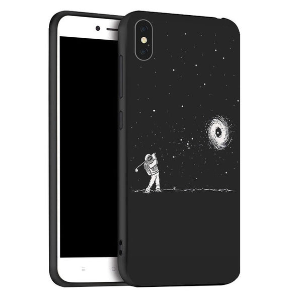 Coque iPhone XR Golf Lunaire