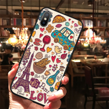 Coque iPhone 11 Paris Love