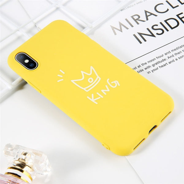 Coque iPhone 6/6s Jaune Roi Fluorescent