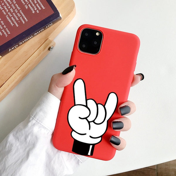 Coque iPhone 11 Rouge Yo