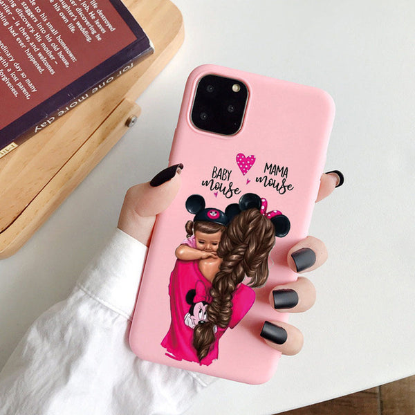 Coque iPhone 11 Mère Fille Amour
