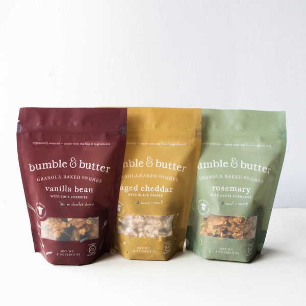 bumble & butter granola