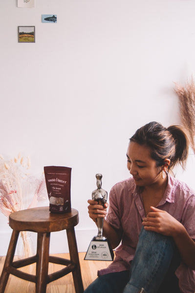 Jamie Kim, Founder of bumble & butter Granola. Brooklyn, NY