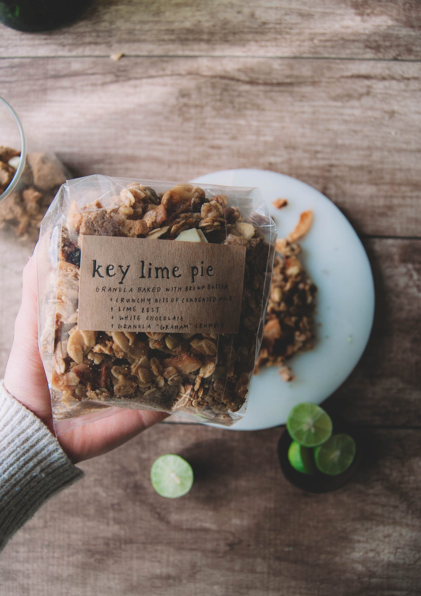 Key Lime Pie Brown Butter Granola