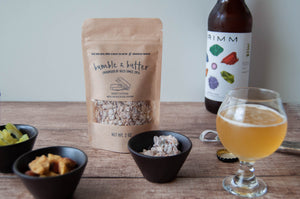Sweet & salty snack with Grimm Ales Craft Beer | What to get dad for Christmas