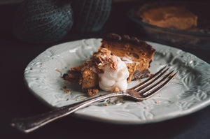 Sweet Potato Bourbon Pie Holiday Recipe