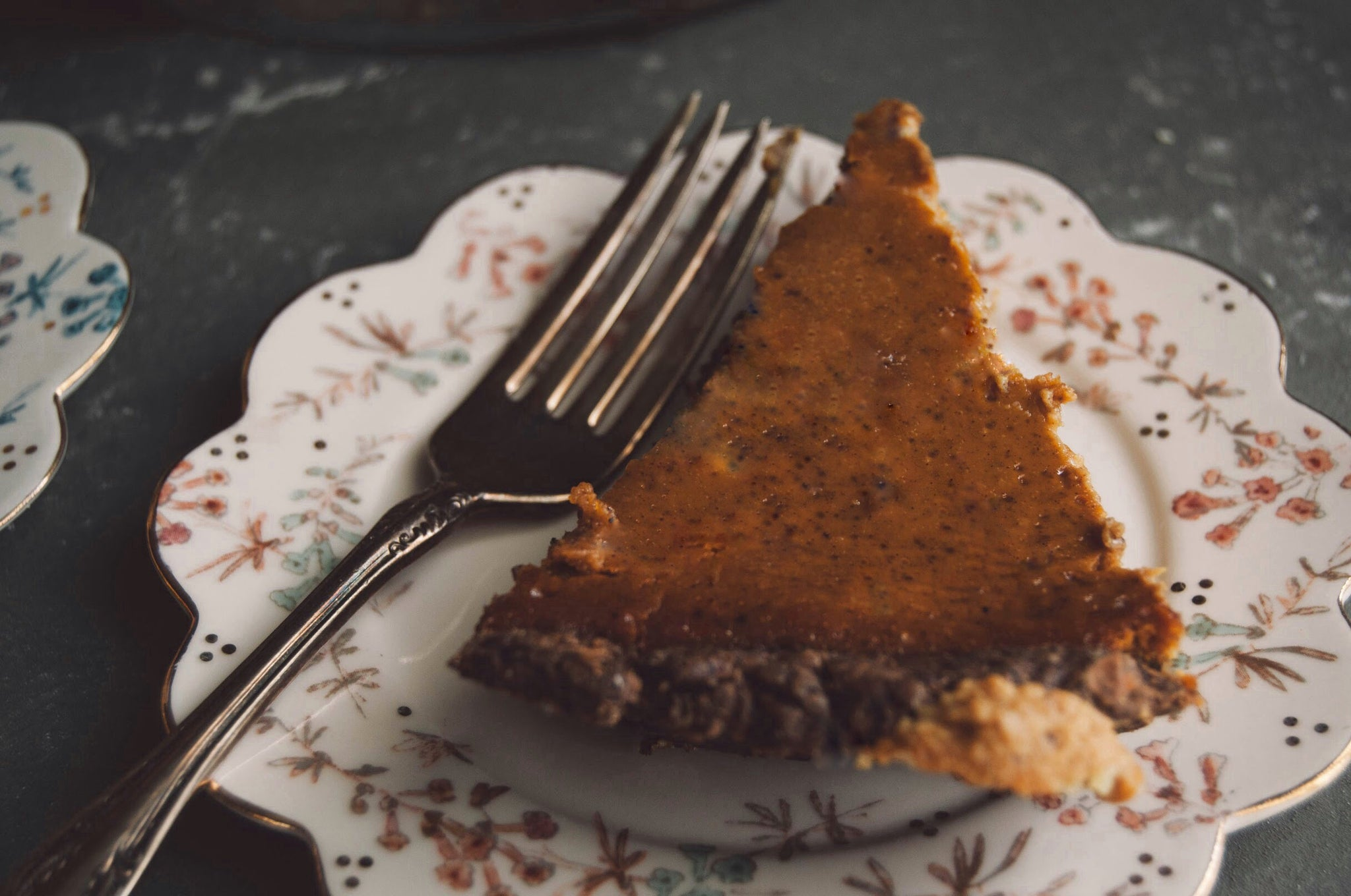 Sweet Potato Bourbon Pie Thanksgiving Recipe