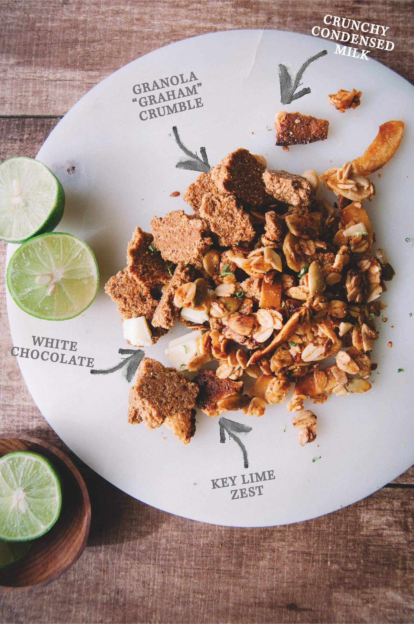 Key Lime Pie Granola