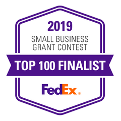 FedEx 2019 Small Business Grant Contest Top 100 Foinalist