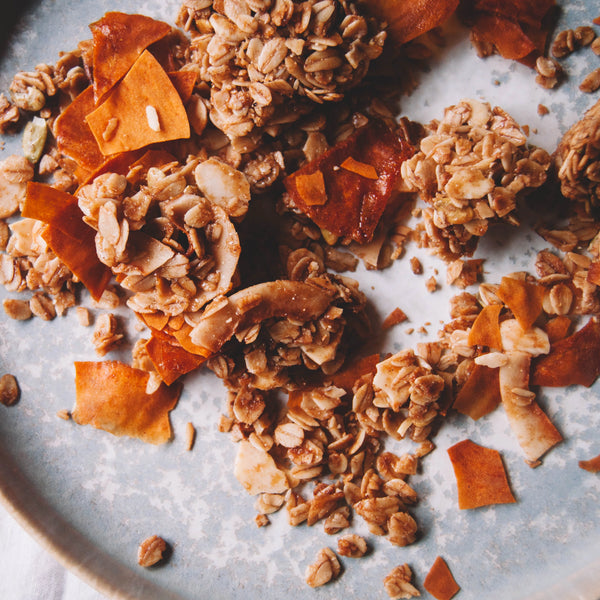 bumble & butter Sweet Potato Granola with Cinnamon & Ginger