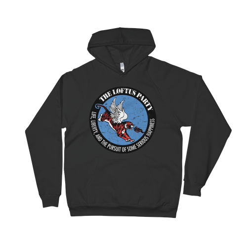Unisex Fleece Hoodie - Color Logo