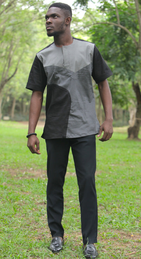 Men's Polished Cotton Shirt and Pants