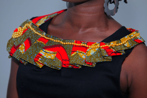 Ankara Pearl Necklace