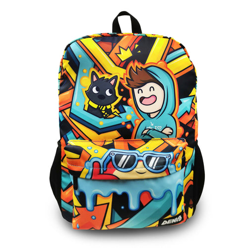 Denis Graffiti Backpack