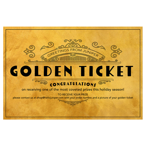 Golden Ticket Promotion (4/5 left)
