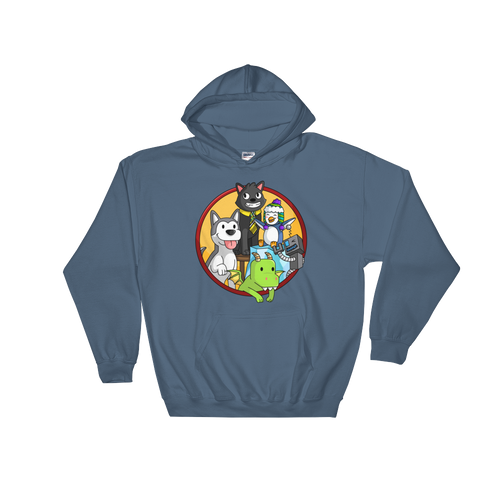 The Pals' Sidekick Adult Hoodie