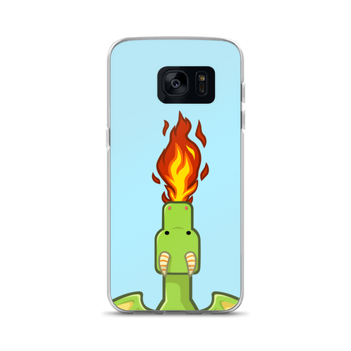 Frank Dragon Fire Samsung Case