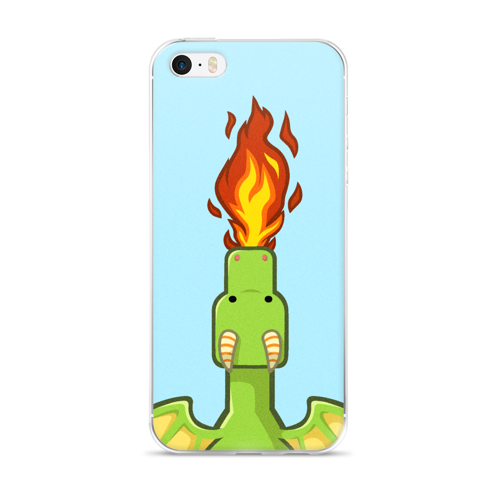 Frank Dragon Fire iPhone Case