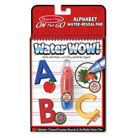 Water Wow! - Alphabet - ON the Go Travel Activity