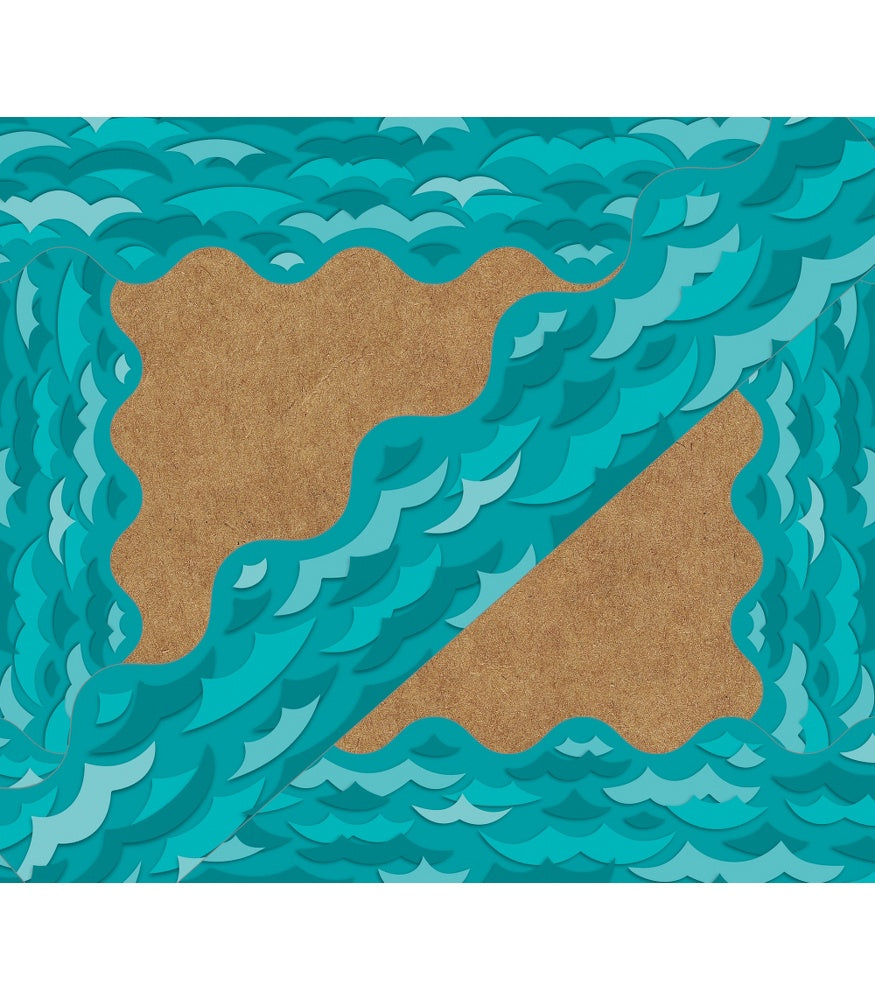 Waves Scalloped Borders