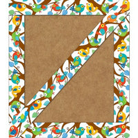 Boho Birds Straight Borders