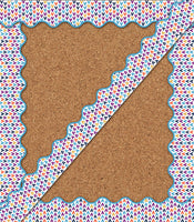 You-Nique Tepees Scalloped Borders