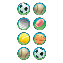 Sports 2 Mini Stickers