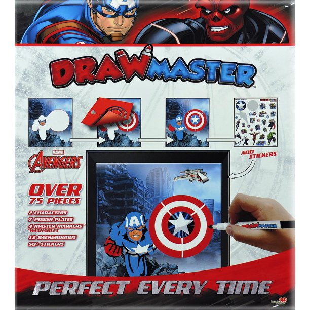 DrawMaster- The Avengers