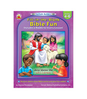 Fill-in-the-Blank Bible Fun Activity Book