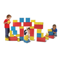 M & D Deluxe Jumbo Cardboard Blocks - 40 pieces