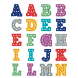 Marquee Alphabet Stickers