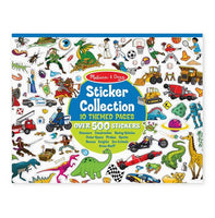 Sticker Collection - Dinosaurs, Vehicles, Space & More