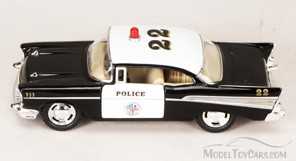 5 in Police 57 Chevy Bel Air