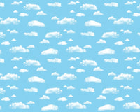 Fadeless Paper - Clouds Nubes 48
